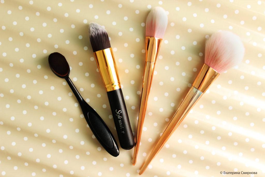 Виды и предназначение различных кистей для макияжа