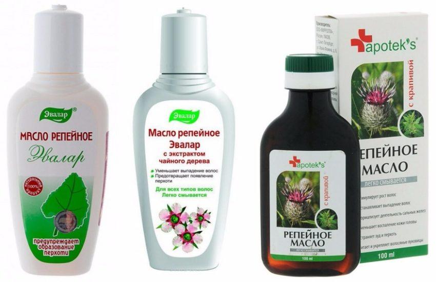 Маска для роста волос с репейным маслом: рецепт средства, применение в домашних условиях